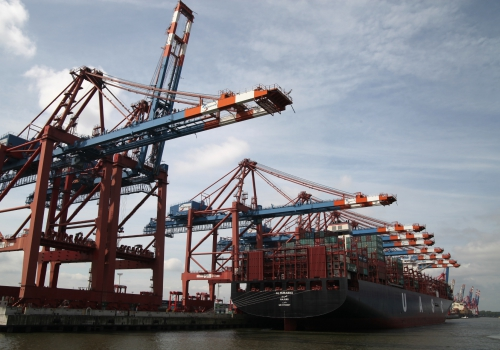 Containerschiff, über dts Nachrichtenagentur