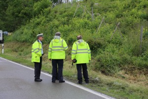 2016-06-08_B32_Amtszell_Korb_Unfall_Fussgaenger_Transporter_Polizei_Poeppel_0001