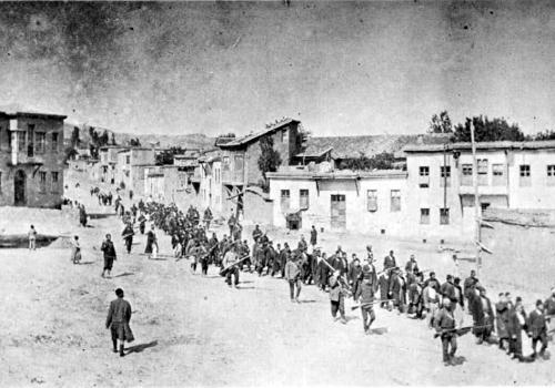 Gefangene Armenier 1915, über dts Nachrichtenagentur