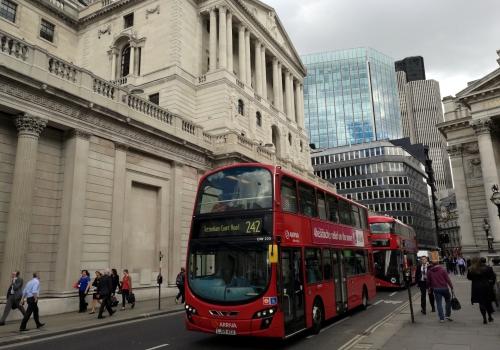 Bank of England im Finanzviertel von London, über dts Nachrichtenagentur