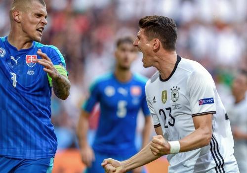 EM-Spiel Deutschland-Slowakei am 26.06.2016, Markus Ulmer/Pressefoto Ulmer, über dts Nachrichtenagentur