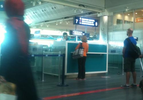 Passkontrolle am Flughafen Istanbul-Atatürk, über dts Nachrichtenagentur