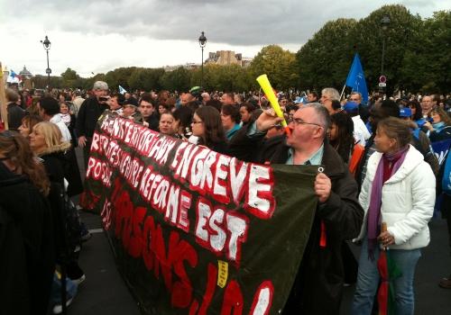 Demonstration in Frankreich, über dts Nachrichtenagentur