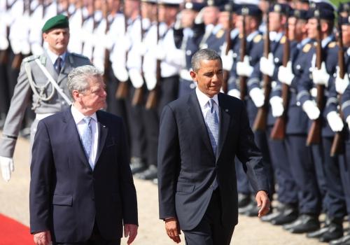 Barack Obama und Joachim Gauck in 2013, über dts Nachrichtenagentur