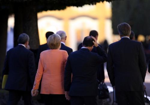 Merkel, Hollande und Cameron am 05.09.2013 beim G20-Gipfel, über dts Nachrichtenagentur