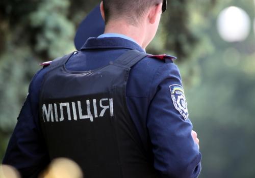 Ukrainischer Polizist in Kiew, über dts Nachrichtenagentur