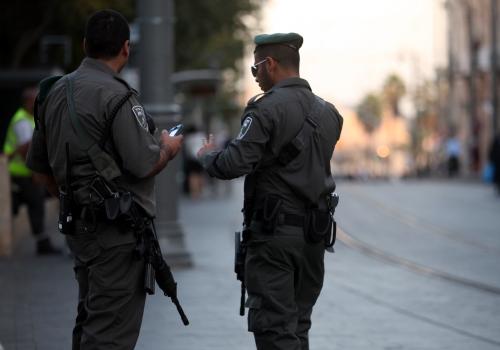 Israelische Sicherheitskräfte, über dts Nachrichtenagentur