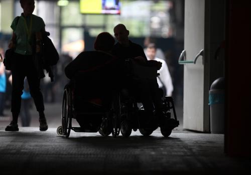 Rollstuhlfahrer, über dts Nachrichtenagentur