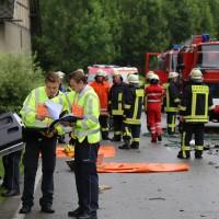 02-07-2016_B465_Bad-Wurzach_Unfall_schwer_Feuerwehr_Christoph17_Polizei_Poeppel_0011