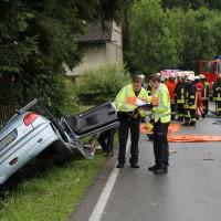 02-07-2016_B465_Bad-Wurzach_Unfall_schwer_Feuerwehr_Christoph17_Polizei_Poeppel_0012