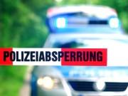 Polizei Absperrung Tatort