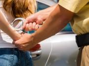 Festnahme Frau