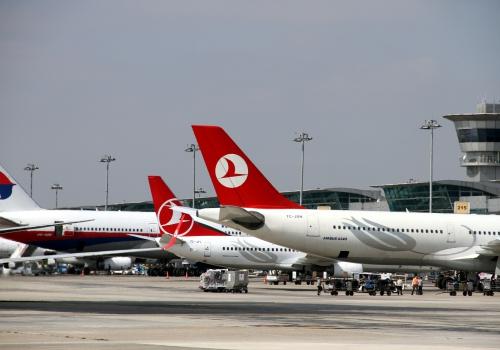Flugzeuge am Flughafen Istanbul-Atatürk, über dts Nachrichtenagentur