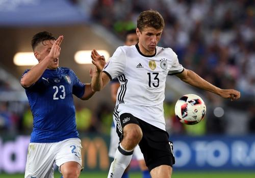 EM-Viertelfinale Deutschland-Italien am 02.07.2016, Pressefoto Ulmer/Michael Kienzler, über dts Nachrichtenagentur