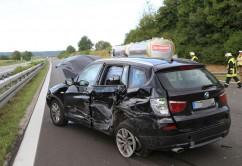 28-08-2016_A96_Mindelheim_Unfall_Lkw_2-Pkw_Feuerwehr_Verletzte_Poeppel_0003