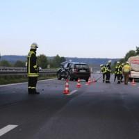 28-08-2016_A96_Mindelheim_Unfall_Lkw_2-Pkw_Feuerwehr_Verletzte_Poeppel_0012