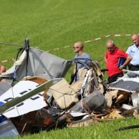 01-09-2016_Ravensburg_Leutkirch_Bettelhofen_Flugzeugabsturz_drei-Tote_Polizei_Feuerwehr_Poeppel_0055