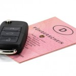 Führerschein Autoschlüssel