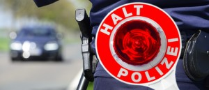 Blaulicht Polizei Blitzmarathon Kelle Stopp