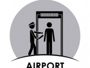 Airport concept about travel icons design, vector illustration eps 10