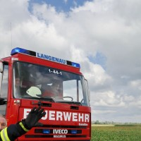 A8 Leipheim LKW-Brand 1