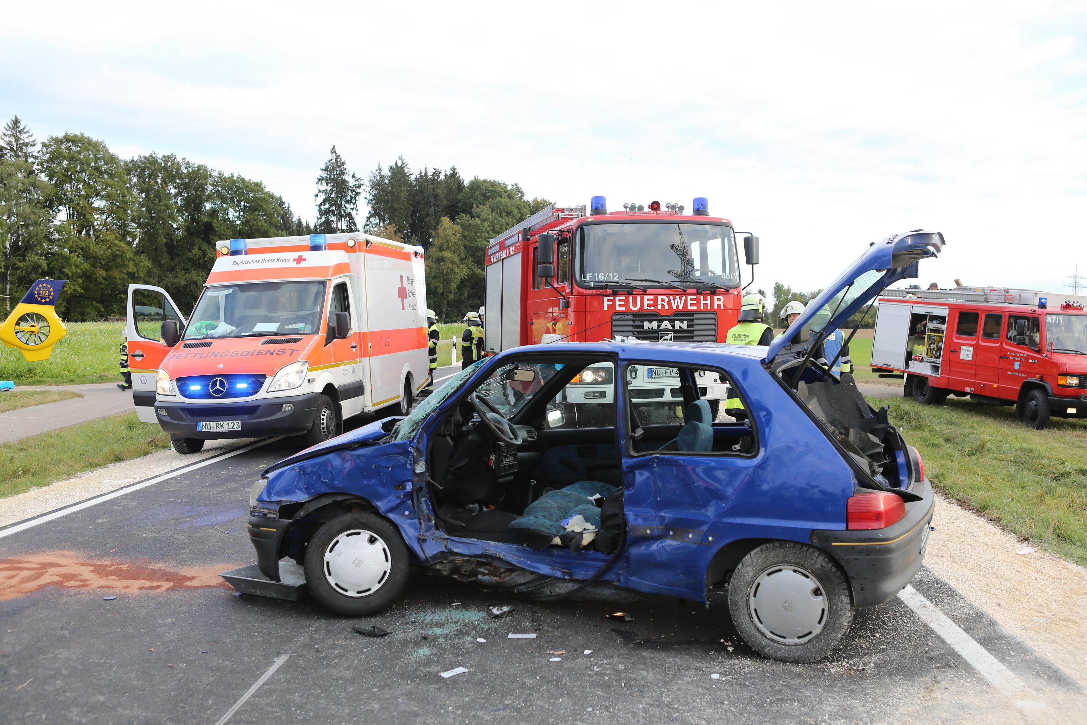 Witzighausen-Illerberg - Nach Unfall im Pkw eingeklemmt - new-facts ...