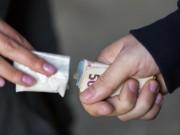 Drogen Übergabe Verkauf