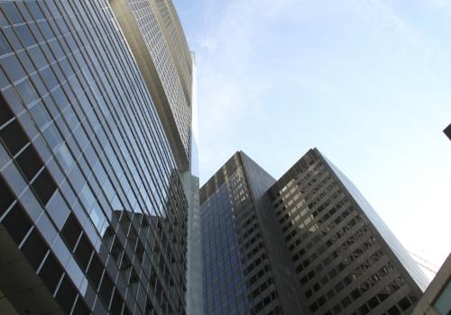 Banken-Hochhäuser, über dts Nachrichtenagentur
