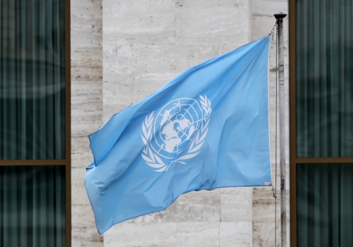Fahne vor den Vereinten Nationen (UN), über dts Nachrichtenagentur