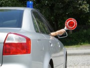 Kelle Polizei Stopp Halt