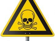 Warntafel giftig