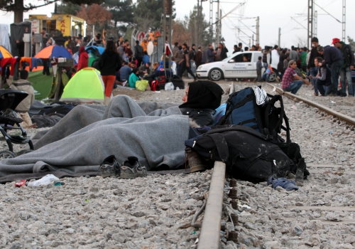 Flüchtlinge auf der Balkanroute, über dts Nachrichtenagentur