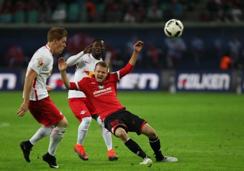 RB Leipzig - Mainz 05 am 6.11.16, über dts Nachrichtenagentur