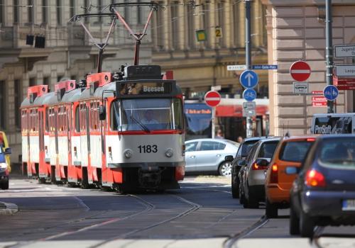 Joliot-Curie-Platz in Halle, über dts Nachrichtenagentur