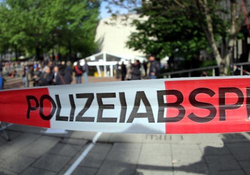 Absperrung vor dem Strafjustizzentrum München, über dts Nachrichtenagentur