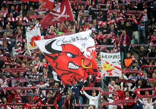 Fans von RB Leipzig, über dts Nachrichtenagentur