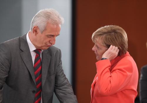Stanislaw Tillich und Angela Merkel, über dts Nachrichtenagentur