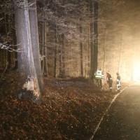20161221_Unterallgaeu_Altensteig_Dorschhausen_UNfall_Pkw-Baum_Feuerwehr_Poeppel_0020