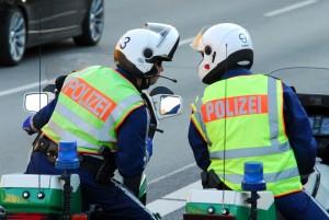 Polizei Motorradstreife