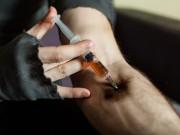 Drogen Nadel Heroin