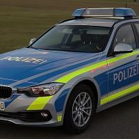 Polizei Einsatzfahrzeug neu