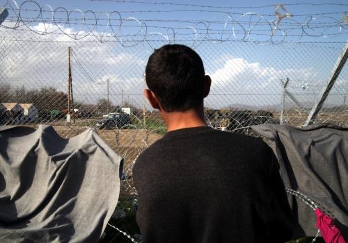 Grenzzaun zwischen Mazedonien und Griechenland, über dts Nachrichtenagentur