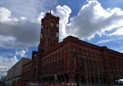 Rotes Rathaus in Berlin, über dts Nachrichtenagentur