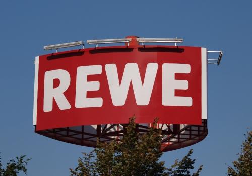 Rewe-Logo, über dts Nachrichtenagentur