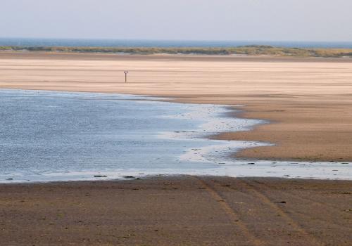 Ein Strand an der Nordsee, über dts Nachrichtenagentur