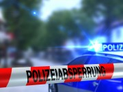 Polizeiabsperrung - Straensperre - Tatort