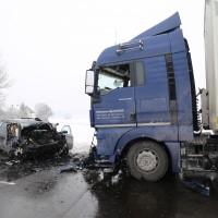 Unfall Frontal Biessenhofen tödlich LKW B16 Bringezu (4)
