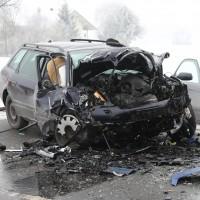 Unfall Frontal Biessenhofen tödlich LKW B16 Bringezu (5)