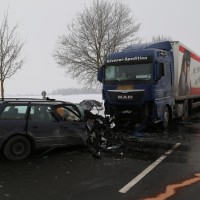 Unfall Frontal Biessenhofen tödlich LKW B16 Bringezu (9)