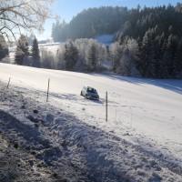 Unfall ST2055 Kaufbeuren Friesenried Oberbeurer Steige Winter (2)